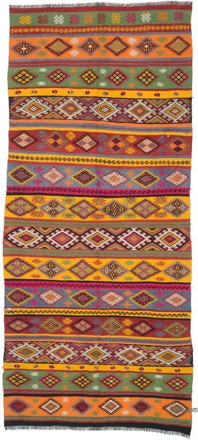 Çok Renkli Sivas Kilimi - 167 cm x 377 cm