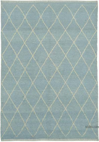 """Moroccan Style Hand-Knotted Tulu Rug - 5' 4"""" x 7' 5"""" (64 in. x 89 in.)"""